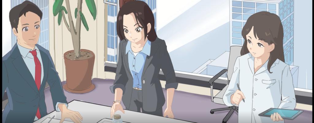 アニメーションCM制作例
